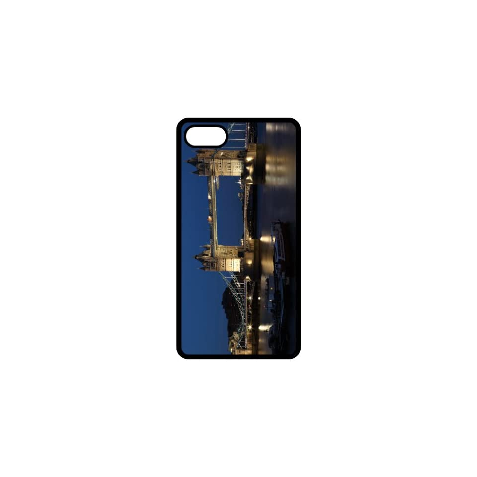 Tower Bridge At Night Image Black Apple Iphone 5 Cell Phone Case   Cover