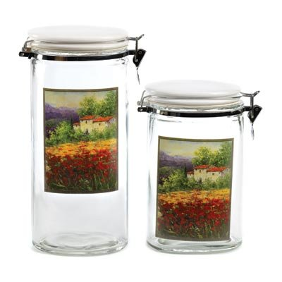 tuscan kitchen canister sets tuscan kitchen canisters ebay