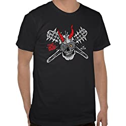 That Metal Show: Skull and Spike Bat Tee