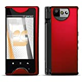 Red Rubberized Hard Phone Cover Protector Case for Kyocera Echo M9300