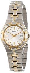 Seiko Women's SXDA42 Diamond Two-Tone Watch