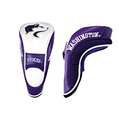 Brand New University of Washington Huskies Hybrid Head Cover by Things for You