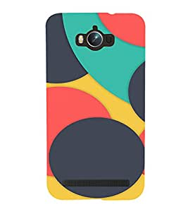 EPICCASE colorfull case Mobile Back Case Cover For Asus Zenfone Max (Designer Case)