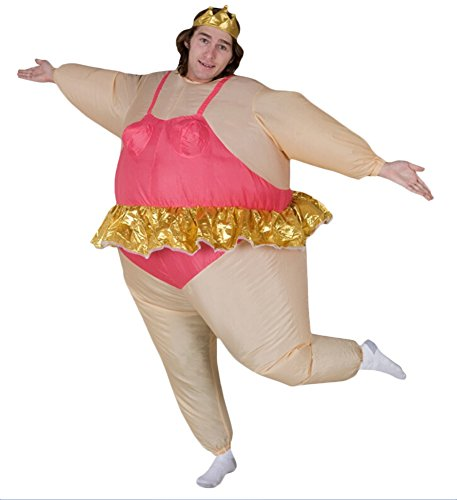Ace Halloween Adult Inflatable Suit Ballet-dancer Costumes