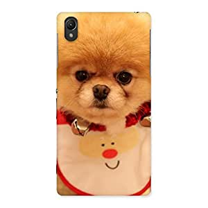 Impressive Cutest Pup Multicolor Back Case Cover for Sony Xperia Z2