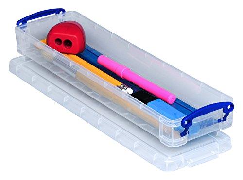 Really Useful Box Boîte En Plastique 0,8L Transparent Incolore Recyclé