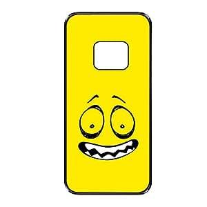 Vibhar printed case back cover for Samsung Galaxy Alpha CreepyEmoticon