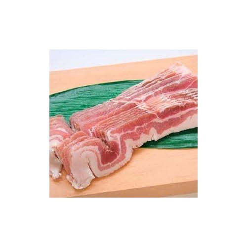 【品質の良いチリ産豚】豚バラ肉スライス  500g