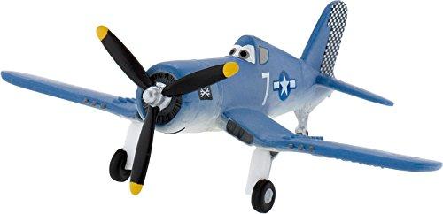 * PLANES - SKIPPER * Spielzeug-Flugzeug als Geschenk, Mitgebsel oder Deko von Bullyland® // 12924 // Geschenktüten Kindergeburtstag Disney Pixar