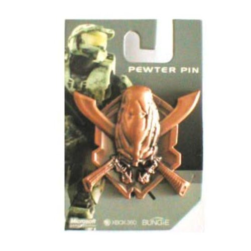 Halo 3 Covenant Pewter 3-D Pin Case Pack 12 Halo 3 Covenant Pewter 3-D Pin Case Pack 12