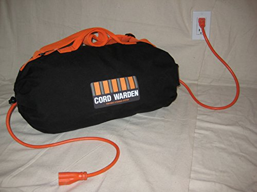 Cord Warden - Tangle Free Extension Cord Storage Organization Bag - Holds 25 feet - 100 foot