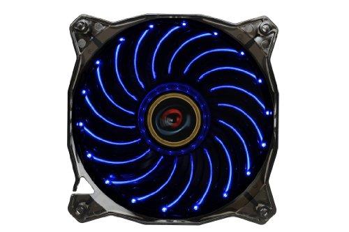 Lepa Casino 1 Color 120Mm Led Cooling Case Fan, Black/Blue Lpvc1C12P
