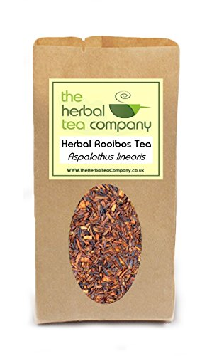Meadowsweet Filipendula Ulmaria Rooibos Tea Blend - With A Hint Of Lemon - Free Infuser - Makes 30+ Cups