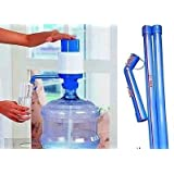 WATER CAN BOTTLE WATER DISPENSER MANUAL HAND PRESS PUMP BOTTLED WATER PUMP HIQLT
