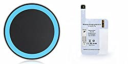 ARE Wireless Charging Pad with Samsung Note 4 Receiver Multicolour