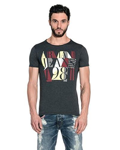 Armani Jeans Camiseda Manga Corta A6H36-Zx E2 Gris Oscuro