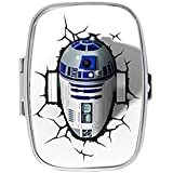 Star Wars R2 D2 Unique Custom Design Pill Box Medicine Tablet Organizer Dispenser Case