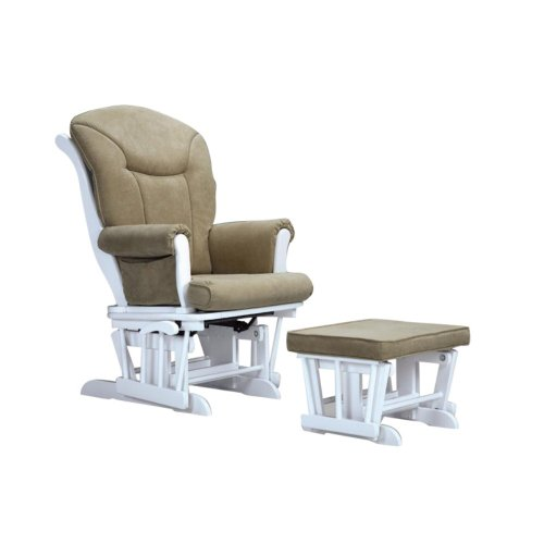 Baby Glider And Ottoman front-117544