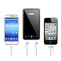 Anker Astro3E 大容量モバイルバッテリー 10000mAh 5V/3A 2USBポート同時充電【18ヶ月保証・安心サポート】iPhone5/iPhone4S/iPad/iPod/Android/各種スマホ/Wi-Fiルータ等対応(日本語説明書付き)
