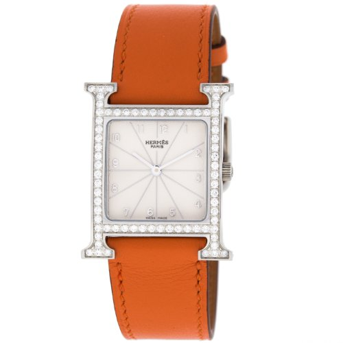 Hermes HH1.530 Original Diamonds Quartz Stainless Steel Women's Watch