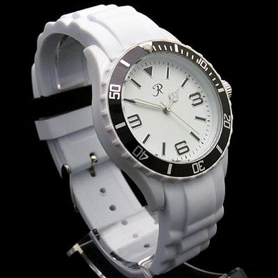 Ladies White Anti Allergenic Rubber/Silicon Sports