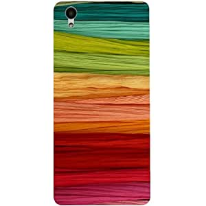 Casotec Colorful Thread Design 3D Printed Back Case Cover for Vivo Y51L