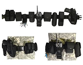 Versatile Modular Utility Belt for Military, Police or Security Personnel