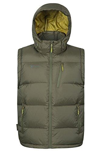 mountain-warehouse-frost-extreme-mens-abajo-acolchada-gilet-verde-oscuro-s