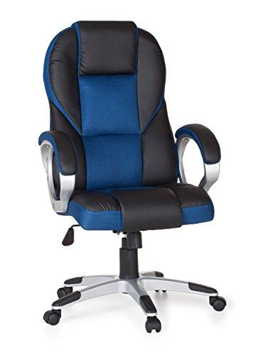 Amstyle-Sedia-da-ufficio-RACE-Gaming-Poltrona-direzionale-con-braccioli-Racer-Sport-seduta-girevole-Racing-Sedia-da-scrivania-Gamer-Design-moderno-Sedia-girevole-per-poggiatesta-con-funzione-dondolo-m