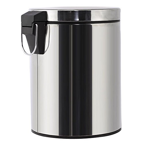 Stainless Steel Trash Can Step Trash And Recycling Bin
