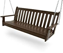 "Big Sale POLYWOOD GNS60MA Vineyard 60"" Swing, Mahogany"