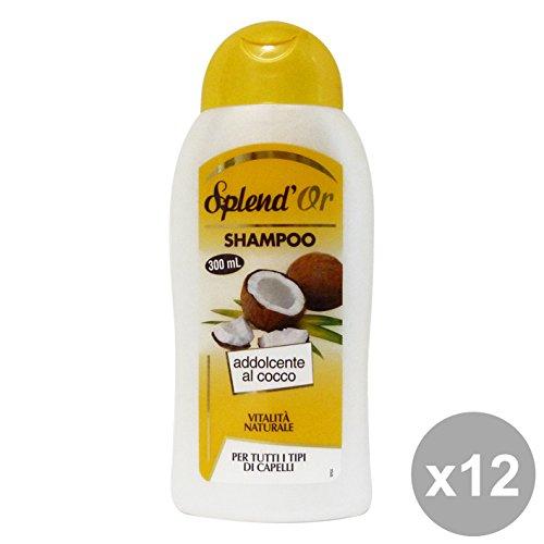 Set 12 SPLEND'OR Shampoo COCCO 300 Ml. Prodotti per capelli