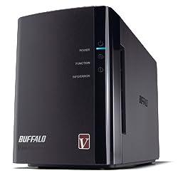 BUFFALO LinkStation Pro Duo 2-Bay 6 TB (2 x 3 TB) RAID High Performance Network Attached Storage (NAS) - LS-WV6.0TL/R1