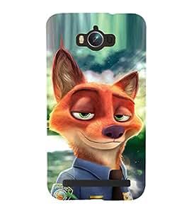 EPICCASE Fox police Mobile Back Case Cover For Asus Zenfone Max (Designer Case)