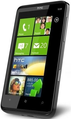 HTC HD7 Unlocked Global Smartphone – Window 7, 1 GHz processor, GPS, WiFi (Unlocked T-Mobile Logo)