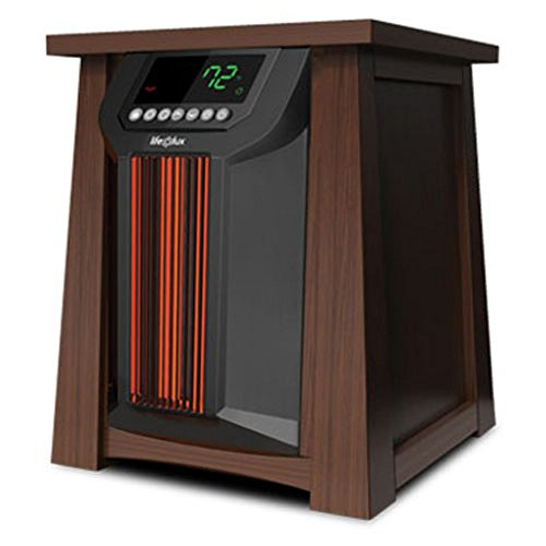 Lifesmart Products LCHT0016US LifeLux 8 Element Infrared Space Heater (Extra Large Electric Heater compare prices)