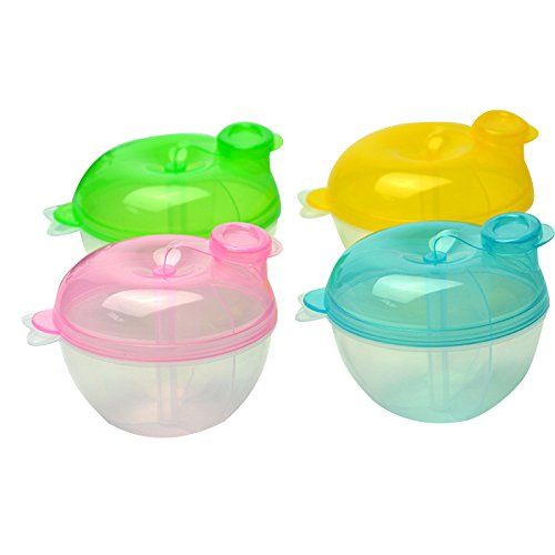 Cheapest Price! Portable Baby Feeding Milk Powder Food Bottle Container 3 Cells Grid Box Kid Milk Powder Formula Dispenser