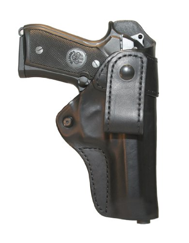 BLACKHAWK! Leather Inside-the-Pants Black Holster, Size 21, Right Hand, (Springfield XDM)