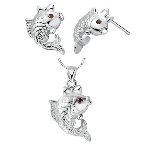 anazoz-fashion-jewelry-simple-personality-white-gold-plated-women-jewelry-set-necklace-earring-set-f