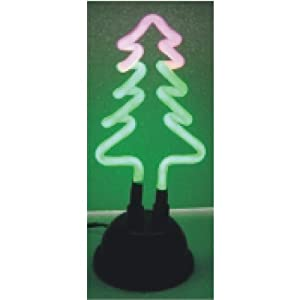 #!Cheap Neon Holiday Themed Light With USB Port Plug - Christmas Tree