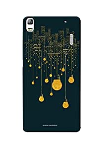 Sowing Happiness Printed Back Cover For Lenovo K3 Note