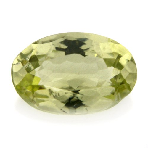 Natural Yellow Beryl Loose Gemstone Oval Cut 1.60cts 9*6mm SI Grade Marvelous