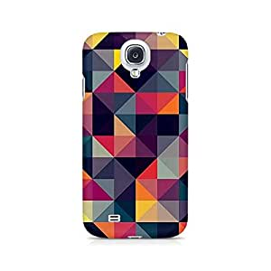 Ebby Squares Premium Printed Case For Samsung S4