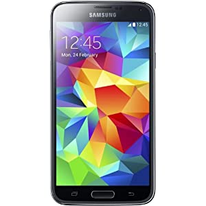 Samsung Galaxy S5 Smartphone (12,95 cm (5,1 Zoll) Touch-Display, 2,5 GHz Quad-Core Prozessor, 16 MP Kamera, Android 4.4 OS) schwarz