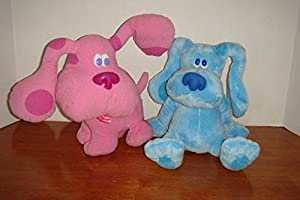 Amazon.com: Blues Clues and Magenta Talking Plush Stuffed ...