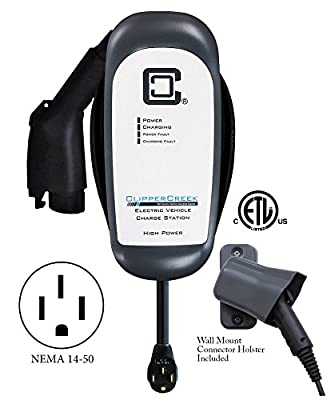 ClipperCreek HCS-40P - 32 amp EV Charging Station, with 14-50 plug, 25 ft cable