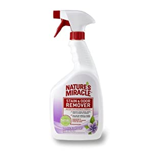 Nature's Miracle Stain & Odor Remover, Tropical Bloom Scent, 32-Ounce Spray