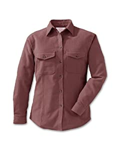 Filson Moleskin Shirt - Long-Sleeve - Women's Dusty Rose, S