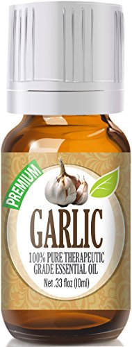 Garlic 100% Pure, Best Therapeutic Grade Essential Oil - 10ml