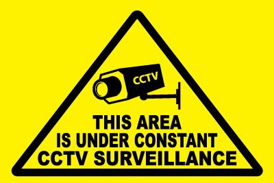 Security Monitoring Sign Security Sign Cctv This